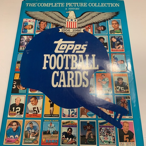 1956-1986 TOPPS FOOTBALL CARDS COMPLETE COLLECTION